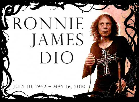 the Ronnie James DIO Collection