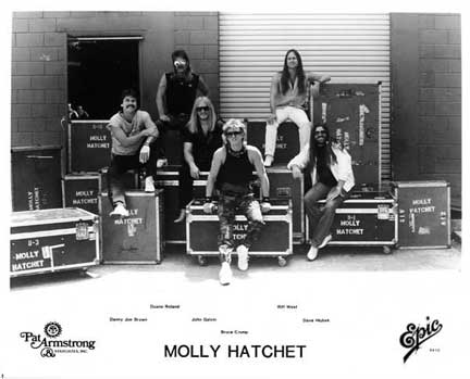 Molly Hatchet promo