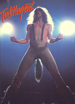 Ted Nugent 78 Tour Book